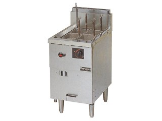 業務用ガス茹で麺器(冷凍麺対応)