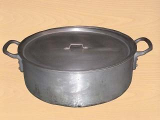 アルミ半寸胴鍋