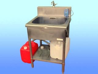 簡易給排水装置付きシンク