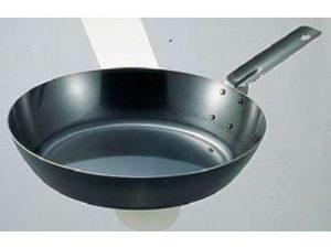 鉄フライパン、オーブン用 40cm (IH対応)